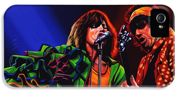 Rock And Roll iPhone 5 Case - The Rolling Stones 2 by Paul Meijering