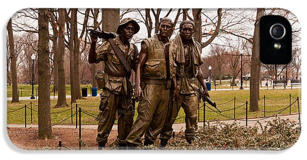 The Three Soldiers Bronze Statues IPhone 5 Case
