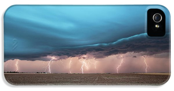 Thunderstorm IPhone 5 Case by Roger Hill