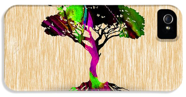 Tree Of Life  IPhone 5 Case by Marvin Blaine