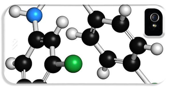 Toxicity iPhone 5 Case - Triclocarban Antibacterial Agent Molecule by Molekuul