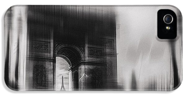 French iPhone 5 Case - Triumphal Arch by Oussama Mazouz