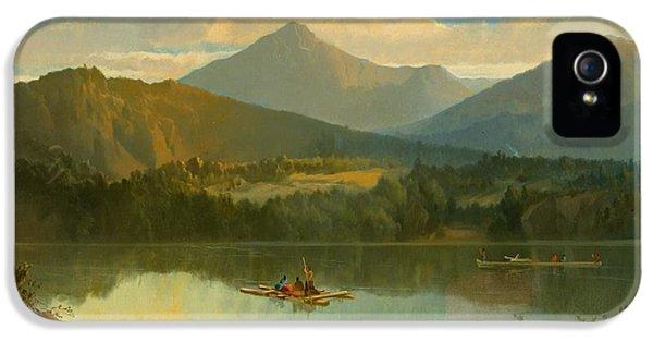 Western Landscape IPhone 5 Case by John Mix Stanley