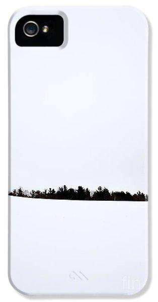 Winter Minimalism IPhone 5 Case