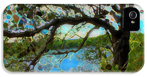 Wishing Tree IPhone 5 Case by Terence Morrissey