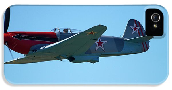Yakovlev Yak-3 - Wwii Russian Fighter IPhone 5 Case by David Wall