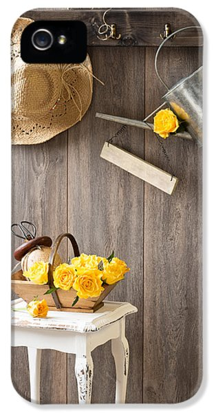 Yellow Roses IPhone 5 Case
