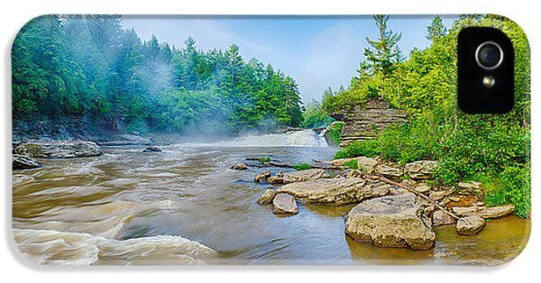Swallow iPhone 5 Case - Youghiogheny River A Wild And Scenic by Panoramic Images