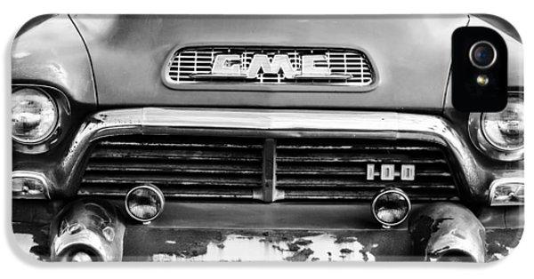 1957 Gmc V8 Pickup Truck Grille Emblem IPhone 5 Case