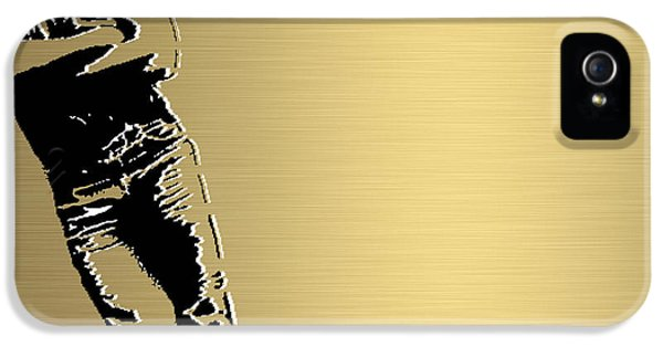 Bruce Springsteen Gold Series IPhone 5 Case by Marvin Blaine