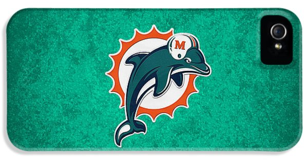 Miami Dolphins IPhone 5 / 5s Case by Joe Hamilton
