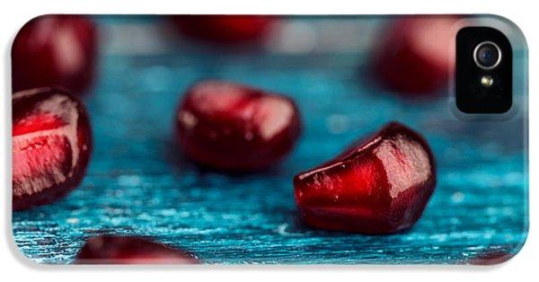 Orange iPhone 5 Case - Pomegranate by Nailia Schwarz