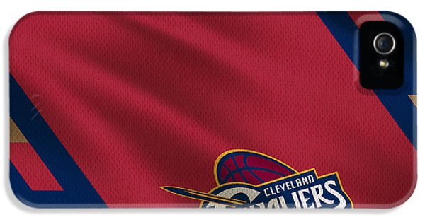 Cleveland Cavaliers Uniform IPhone 5 / 5s Case by Joe Hamilton