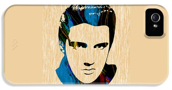Elvis Presley IPhone 5 Case by Marvin Blaine