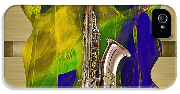 Saxophone Collection IPhone 5 Case
