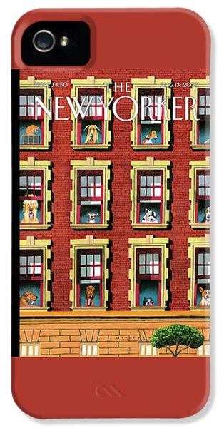 New Yorker August 13th, 2007 IPhone 5 Case
