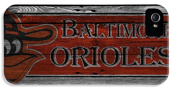 Oriole iPhone 5 Case - Baltimore Orioles by Joe Hamilton