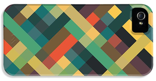 Geometric IPhone 5 Case by Mike Taylor