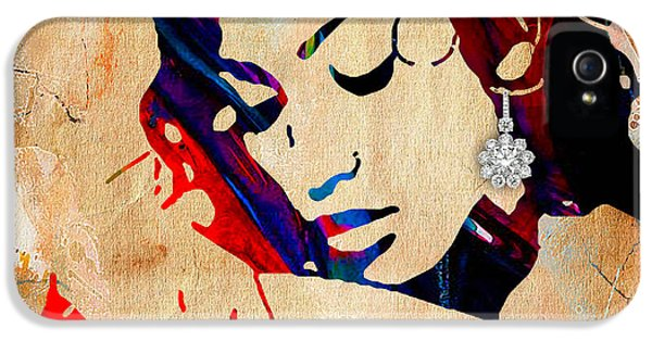 Jennifer Lopez Collection IPhone 5 Case by Marvin Blaine