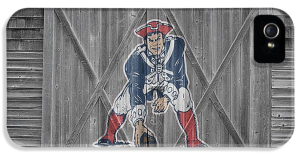 New England Patriots IPhone 5 Case by Joe Hamilton
