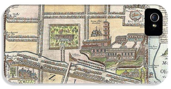 1650 Fuller Map Of Jerusalem  IPhone 5 Case