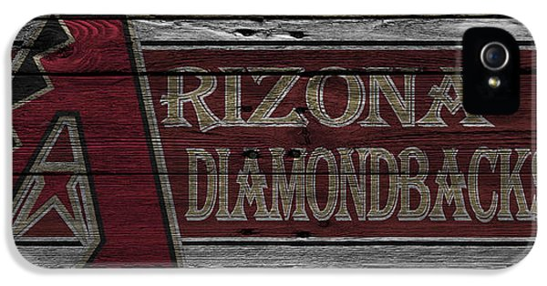 Arizona Diamondbacks IPhone 5 Case by Joe Hamilton