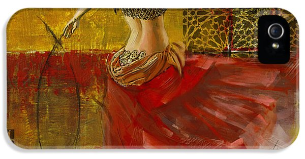 Abstract Belly Dancer 6 IPhone 5 Case by Corporate Art Task Force