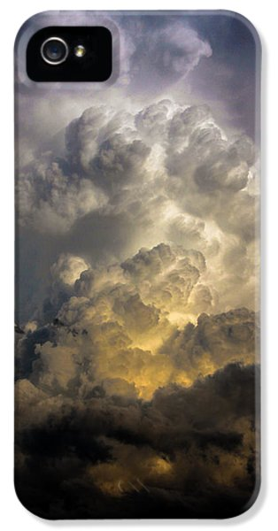Nebraskasc iPhone 5 Case - Late Afternoon Nebraska Thunderstorms by NebraskaSC