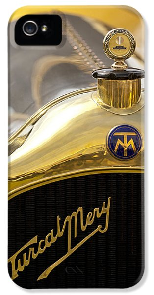 1913 Turcat-mery Mj Boulogne Torpedo Hood Ornament And Emblem IPhone 5 Case
