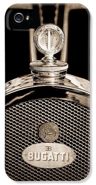 1927 Bugatti Replica Hood Ornament - Emblem IPhone 5 Case