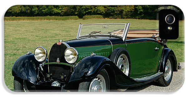 1932 Bugatti Type 49 3.2 Drophead IPhone 5 Case by Panoramic Images