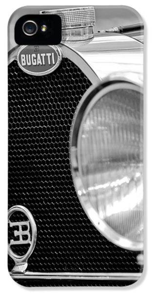 1932 Bugatti Type 55 Cabriolet Grille Emblems IPhone 5 Case
