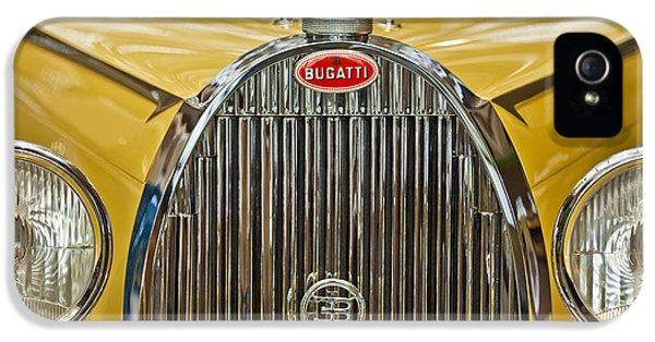 1935 Bugatti Type 57 Roadster Grille IPhone 5 Case