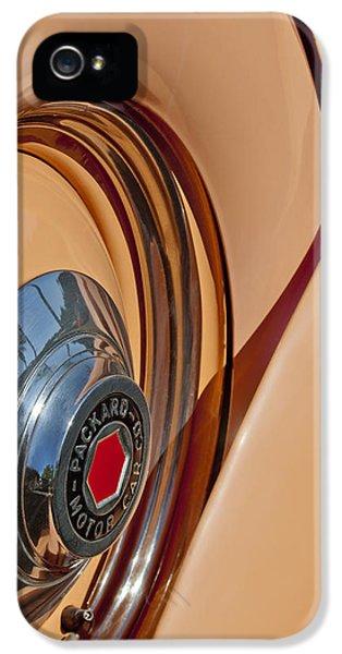 1936 Packard Spare Tire  IPhone 5 Case by Jill Reger