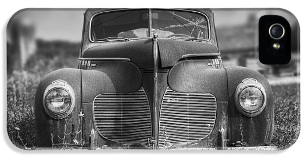 1940 Desoto Deluxe Black And White IPhone 5 Case