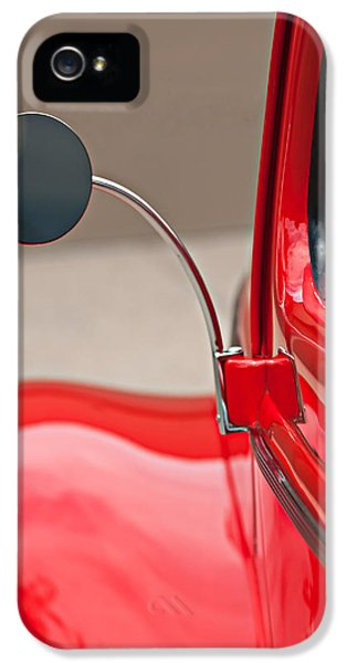 1940 Ford Deluxe Coupe Rear View Mirror IPhone 5 Case