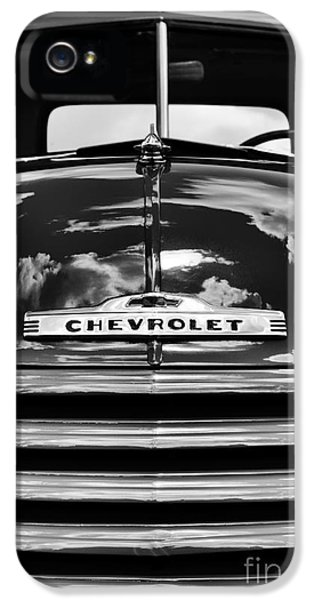 1951 Chevrolet Pickup Monochrome IPhone 5 Case by Tim Gainey