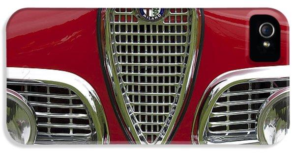 1959 Alfa Romeo Giulietta Sprint Grille IPhone 5 Case by Jill Reger