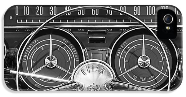 1959 Buick Lasabre Steering Wheel IPhone 5 Case