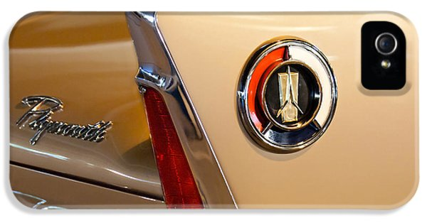1960 Plymouth Fury Convertible Taillight And Emblem IPhone 5 Case