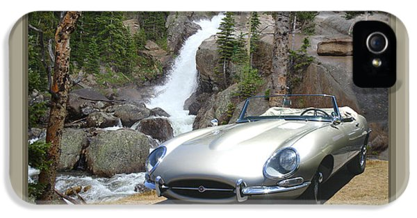 1962 Jaguar Xke IPhone 5 Case