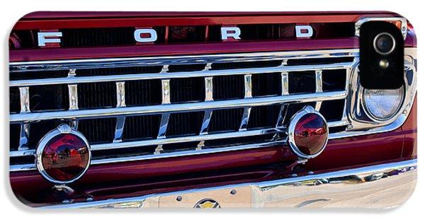 1965 Ford American Lafrance Fire Truck IPhone 5 Case by Jill Reger