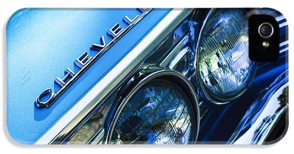 1967 Chevrolet Chevelle Malibu Head Light Emblem IPhone 5 Case
