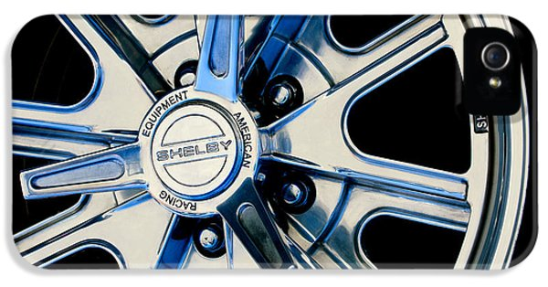 1968 Ford Mustang Fastback 427 Shelby Cobra Wheel IPhone 5 Case by Jill Reger