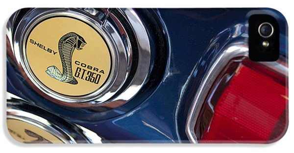 1968 Ford Mustang - Shelby Cobra Gt 350 Taillight And Gas Cap IPhone 5 Case by Jill Reger