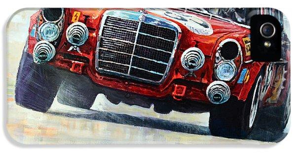 Pig iPhone 5 Case - 1971 Mercedes-benz Amg 300sel by Yuriy Shevchuk