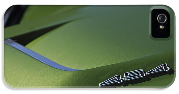 1972 Chevrolet Corvette Convertible Stingray 454 Hood IPhone 5 Case
