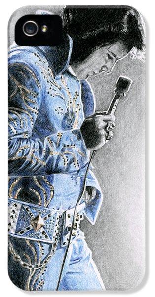 1972 Light Blue Wheat Suit IPhone 5 / 5s Case by Rob De Vries