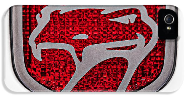 Viper iPhone 5 Case - 1998 Dodge Viper Gts-r Emblem by Jill Reger
