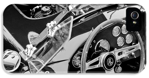 Cobra iPhone 5 Case - Ac Shelby Cobra Engine - Steering Wheel by Jill Reger